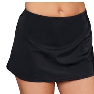 JANTZEN BLACK SKIRT WITH BUILT IN BIKINI BOTTOM 8